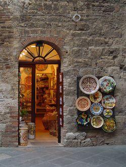 De compras en La Toscana