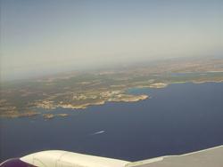 Llegar en avión a Menorca