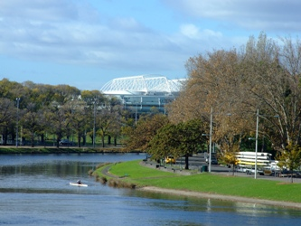Rio Yarra de Melbourne