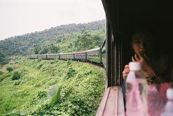 Llegar en tren a Vietnam