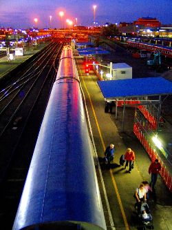 Llegar en Tren a Sydney