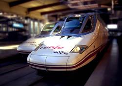 Llegar en Tren a Madrid