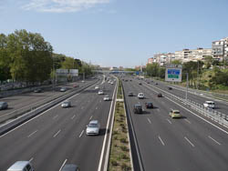 Llegar por Carretera a Madrid