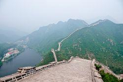 La Gran Muralla China cerca de Pekín