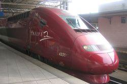 Llegar en tren a Bruselas