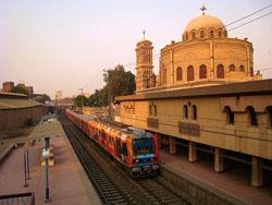 Moverse en Metro o Bus por El Cairo