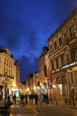 Vida nocturna en Bruselas