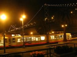 Llegar en tren a San Francisco