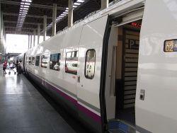 Llegar en tren a Málaga