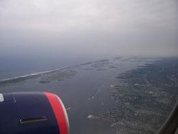 Llegar en Avion a Nueva York