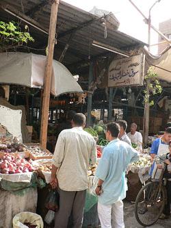 Compras en El Cairo