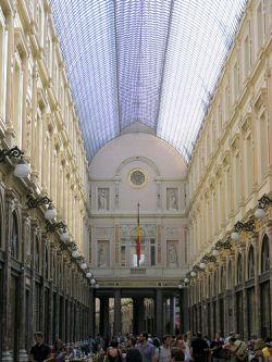 Galerías Saint Hubert de Bruselas