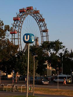 El parque de atracciones Prater de Viena