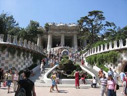 El Parc Guell de Barcelona