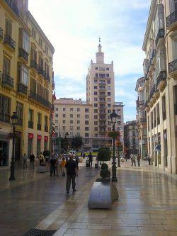 Calle Marqués de Larios de Málaga