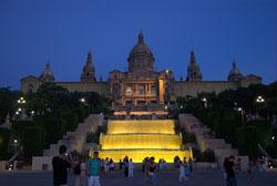 Montjuic y Tibidabo de Barcelona