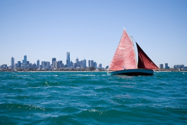 Llegar en barco a Melbourne