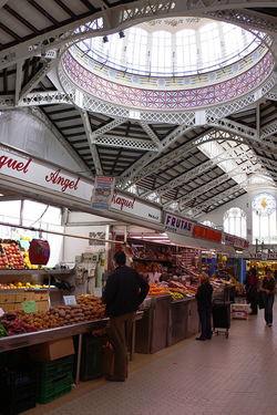 El Mercat Central de Valencia