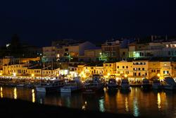 La noche de Menorca
