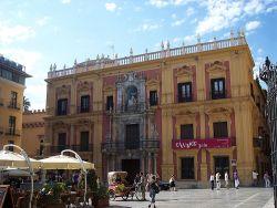 El Palacio Episcopal de Málaga