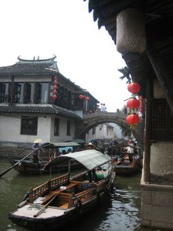 Barrios de Shanghai
