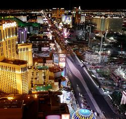 El Strip de Las Vegas