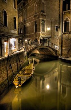 Noche en Venecia