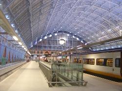 Llegar en Tren a Londres