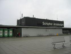 Llegar en Avion a Amsterdam