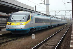 Llegar en Tren a Praga