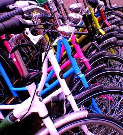 Moverse en Bicicleta por Amsterdam