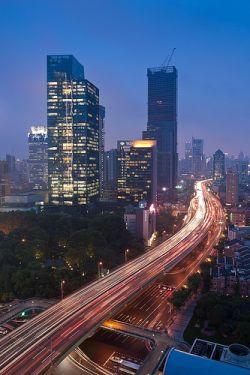 Llegar por carretera a Shanghai