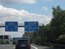 Llegar por Carretera a Praga