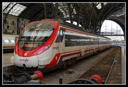 Llegar en Tren a Barcelona