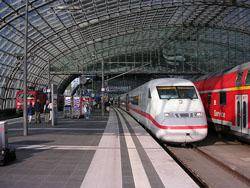 Llegar en Tren a Berlin