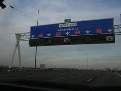 Llegar por Carretera a Amsterdam