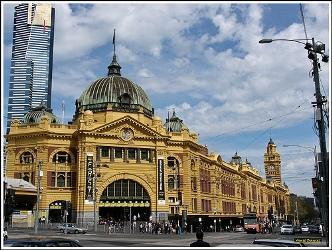 Flinders Street Station de Melbourne