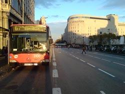 Moverse en Bus por Barcelona