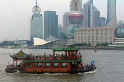 Crucero por el rio Huangpu de Shanghai