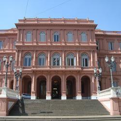 Plaza de Mayo y Casa Rosada de Buenos Aires