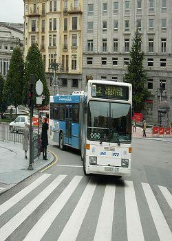 Bonos transporte en Asturias