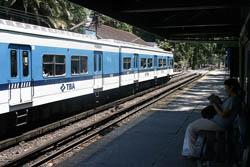 Llegar en Tren a Buenos Aires