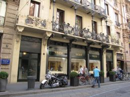 De compras en Milán