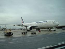 Llegar en Avion a Paris