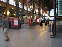 Llegar en Tren a Paris