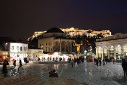 Monastiraki en Atenas