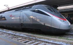 Llegar en Tren a Roma
