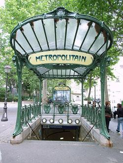 Moverse en Metro o Tren por Paris