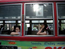 Bonos transporte en Bangkok