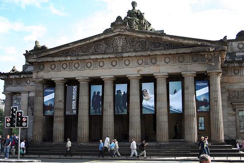Galería Nacional de Escocia en Edimburgo